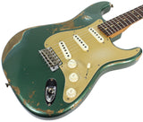 Fender Custom Shop 1959 Heavy Relic Stratocaster - Aged Sherwood Green - NAMM