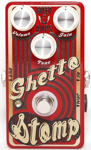 Greer Ghetto Stomp Overdrive Distortion Pedal