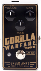 Greer Gorilla Warfare MKII Distortion Pedal