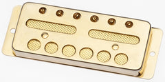 Lollar Gold Foil Surface Mount Pickup, Bridge, Gold