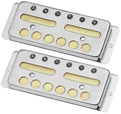 Lollar Gold Foil Surface Mount Pickup Set, Chrome