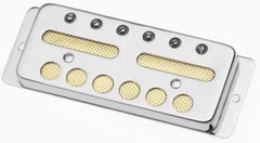 Lollar Gold Foil Surface Mount Pickup, Bridge, Nickel for 3 Piece