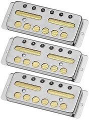 Lollar Gold Foil Surface Mount 3 Pickup Set, Nickel