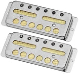 Lollar Gold Foil Surface Mount Pickup Set, Nickel