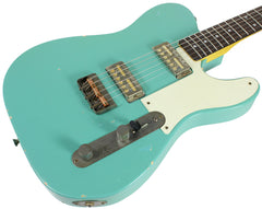 Nash GF-2 Gold Foil Guitar, Seafoam Green