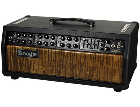 Mesa Boogie Mark V Head - Private Reserve Flamed Maple Face