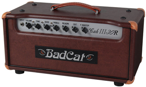 Bad Cat Cub III 30R Reverb Handwired Head - Flyboy