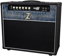 Dr. Z Maz 18 Jr NR 1x12 - Custom Blue Flamed Maple