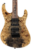 Suhr Modern Natural Buckeye Burl, Black Limba Body