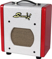 Swart Space Tone Atomic Jr, White, Red Sparkle