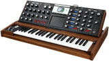 Moog Minimoog Voyager Select Blue - Antique Tiger Oak - #2412