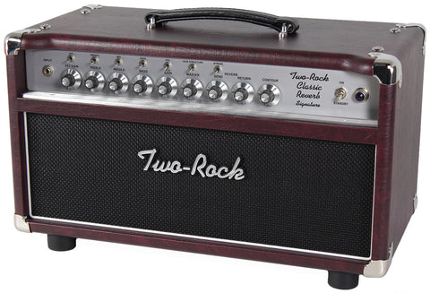 Two-Rock Classic Reverb Signature 100/50 Head, Wine, Silverface