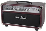 Two-Rock Classic Reverb Signature 50 Tube Rectified Head, Wine, Silverface