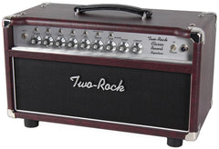 Two-Rock Classic Reverb Signature 50 Tube Rectified Head - Wine - Silverface