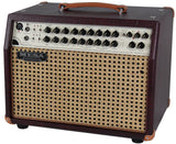 Mesa Boogie Rosette Acoustic Guitar Amplifier - Wine Taurus/ Wicker Grill