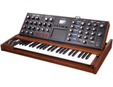 Moog Minimoog Voyager Select Blue - Antique Tiger Oak - #2502