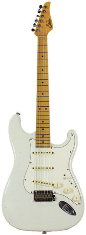 Suhr Classic Antique Guitar, Olympic White, Maple, SSS