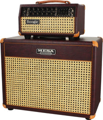 Mesa Boogie Mark Five 25 Head-Cab Set, Wine Taurus, Wicker Grille