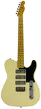 Nash GF-3 Gold Foil Guitar, Vintage White