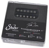 Suhr Thornbucker+ Plus Pickup, Bridge, Black, 50mm