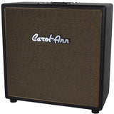 Carol-Ann 1x12 Unloaded Cabinet in Black - Tan Grill