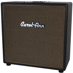 Carol-Ann 1x12 Cabinet in Black - Tan Grill