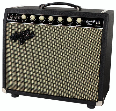 Vintage Sound Vintage 35sc Combo, Black, Salt & Pepper