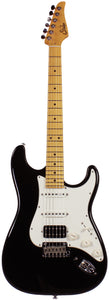 Suhr Classic S HSS Guitar, Black, Maple