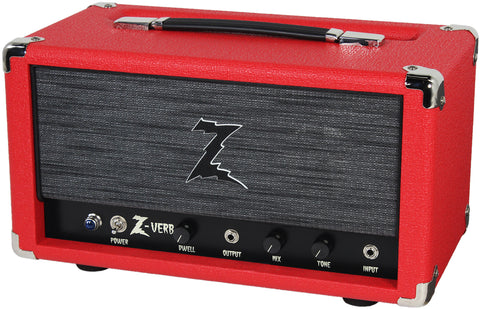 Dr. Z Z-Verb All Tube Handwired Reverb - Red - ZW Grill