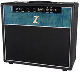 Dr. Z M12 1x12 Combo - Custom Blue Flamed Maple - Serial Number 1