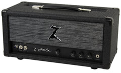 Dr. Z Z-Wreck Head, Half Power Switch, Black w/ ZW Grill