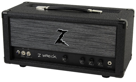 Dr. Z Z-Wreck Head in Black w/ ZW Grill