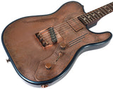 Trussart Deluxe SteelTopCaster - Antique Copper Paisley