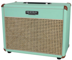 Mesa Boogie 1x12 Lone Star 23 Cab, Surf Green, Wicker Grille