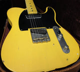 Nash T-52 Guitar, Butterscotch Blonde, Charlie Christian