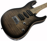 Suhr Modern Pro Guitar, Trans Charcoal Burst, Maple, HSH