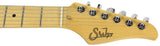 Suhr Classic Pro HSS Guitar, Black, Maple