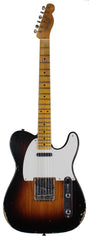 Fender Custom Shop Relic 1954 tele, Wide Fade 2TS