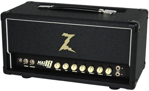 Dr. Z Maz 18 Jr Reverb MKII Head, Black
