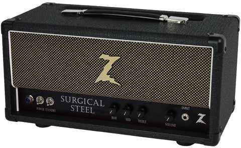 Dr. Z Surgical Steel Head - Black