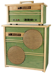 Analog Outfitters Organic 15 Head and 2x10 Cab - Mint Green