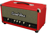 Carol-Ann Tucana 3 Head in Red - Humbucker Music
