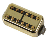 Lollar Lollartron Humbucker Pickup, Bridge, Gold