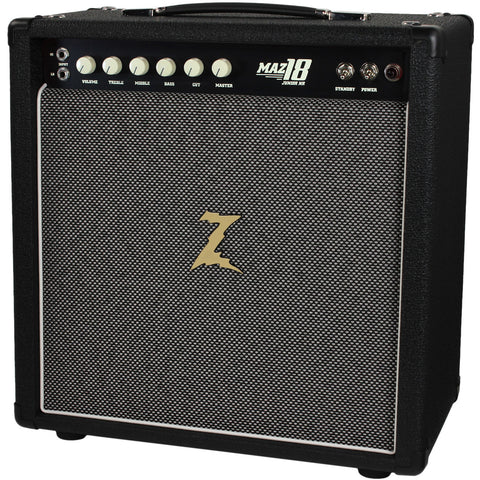 Dr. Z Maz 18 Jr NR MK II 1x12 Studio Combo, Black, Salt & Pepper Grille