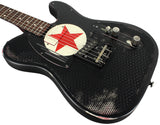 Trussart Steelcaster - Holey Black Star