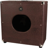 Carol-Ann 1x12 Unloaded Cabinet in Brown Ostrich - Humbucker Music