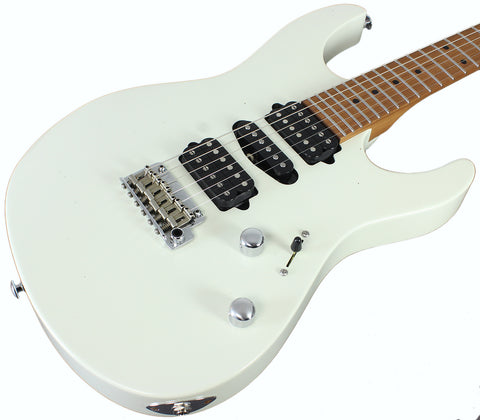 Suhr Modern Antique Pro Limited Guitar - Olympic White, Roasted Maple