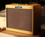 Tungsten Crema Wheat Amp - Lacquered Tweed
