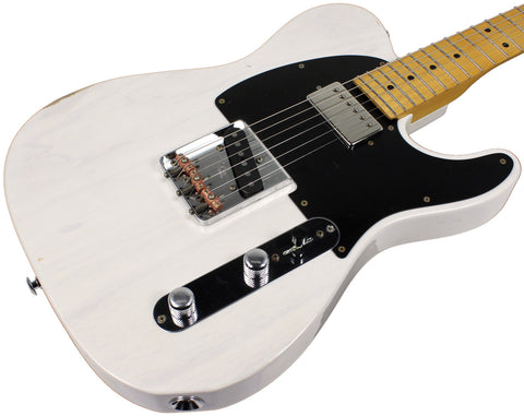 Suhr Classic T Antique Guitar - Trans White, HS