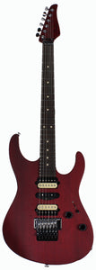 Suhr Modern Cherry Satin Guitar - HSH, Floyd Rose